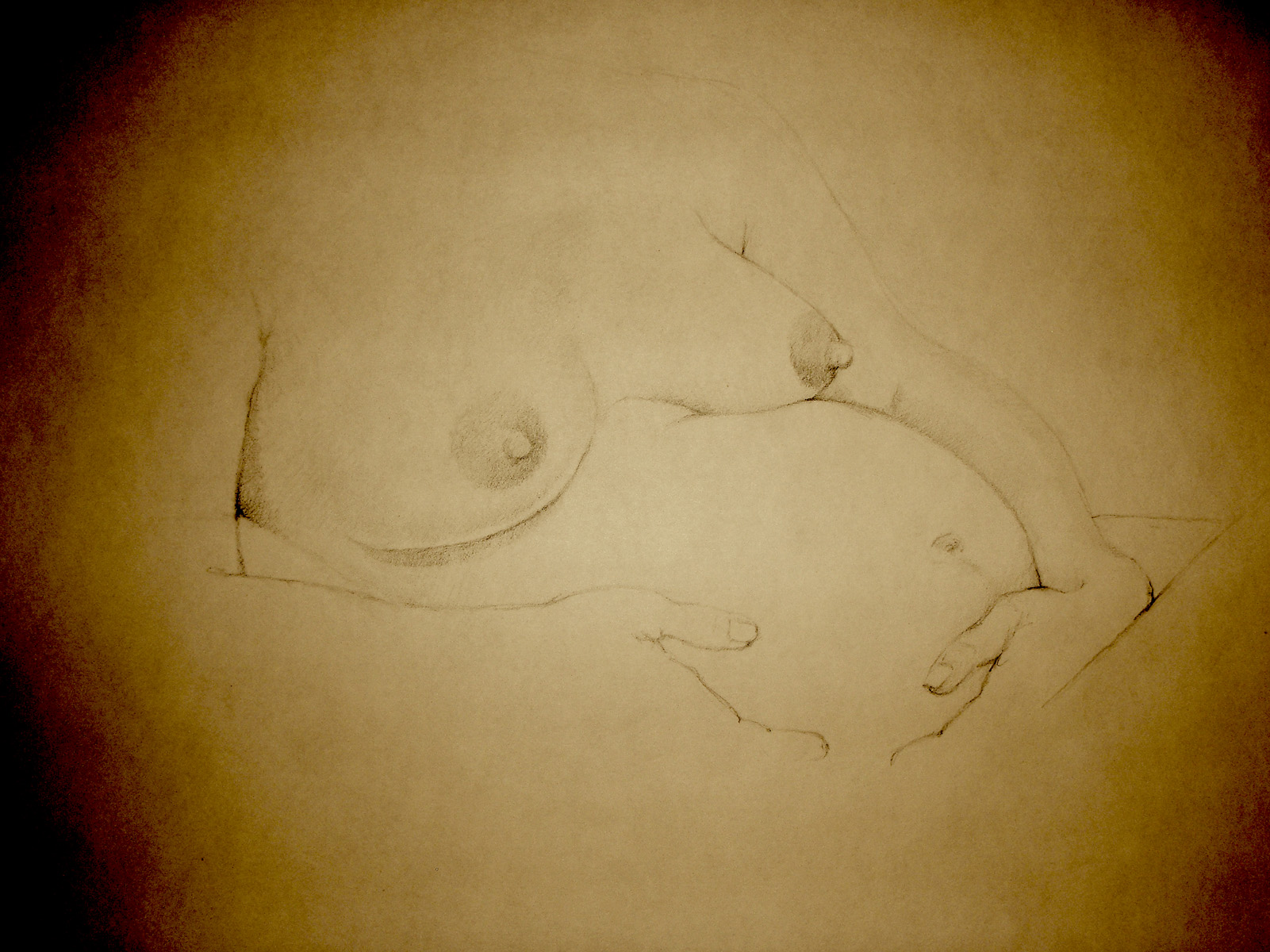 nine months - charcoal, 2008